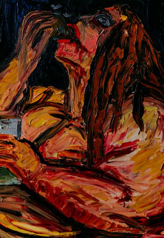 """Odarka Dema-Pisna. Gluttony ( one of the series of paintings """"Seven deadly sins"""") - photo 2"""