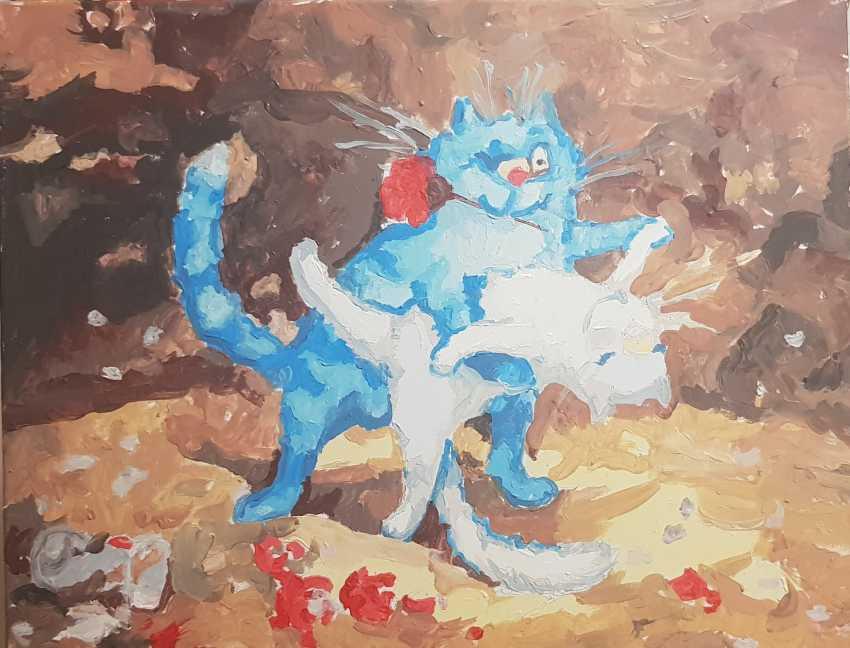 Elena Goncharova. tango cats - photo 1