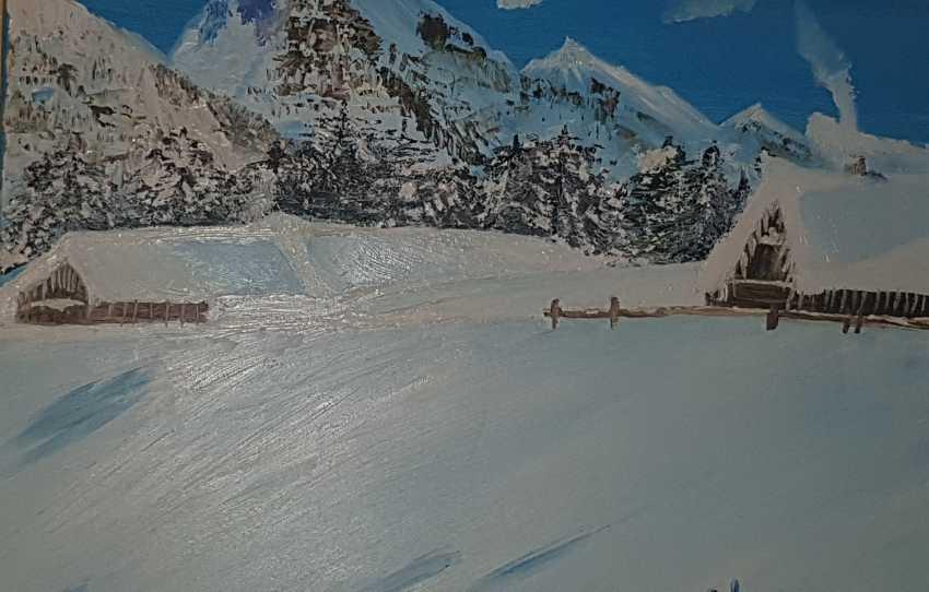Elena Goncharova. Alpine Blizzard - photo 1