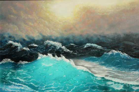 """Jelena Lebedeva-Dvorecka. """"In the stormy sea"""" - photo 2"""