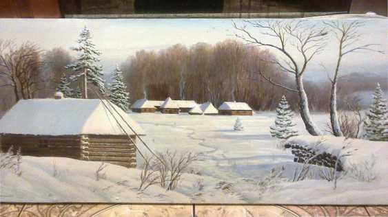 Vladimir Granenko. Picture: Winter day - photo 1