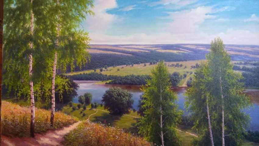 Vladimir Granenko. Painting: Warm afternoon - photo 1