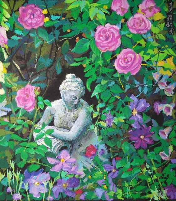 "Olga Kiryakova. ""Blooming garden"" - photo 1"