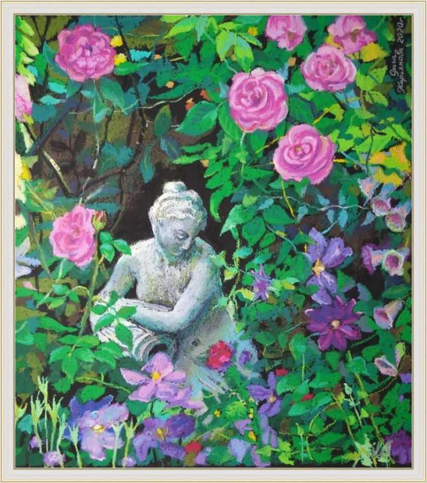 "Olga Kiryakova. ""Blooming garden"" - photo 4"