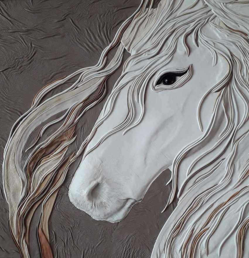 """Nadia Voevodina. """"Pferd"""" - Foto 1"""