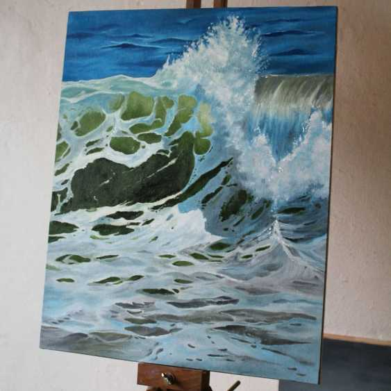 Tetiana Sulzhenko. Sea wave - photo 1