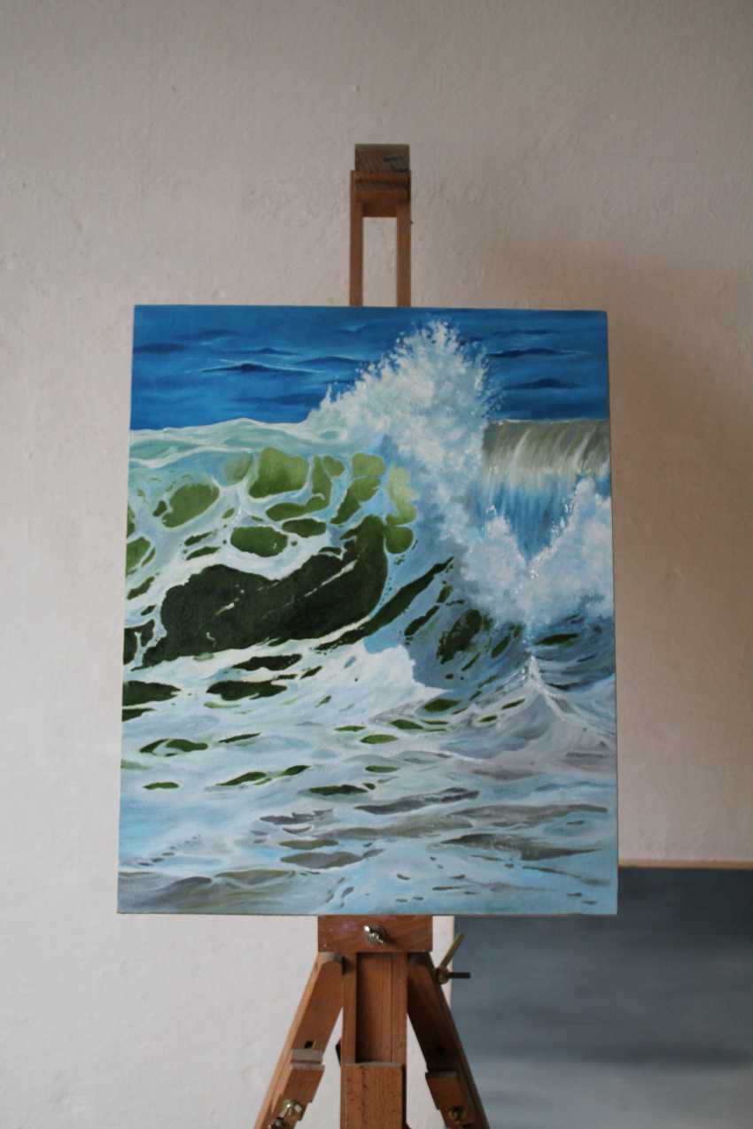 Tetiana Sulzhenko. Sea wave - photo 2