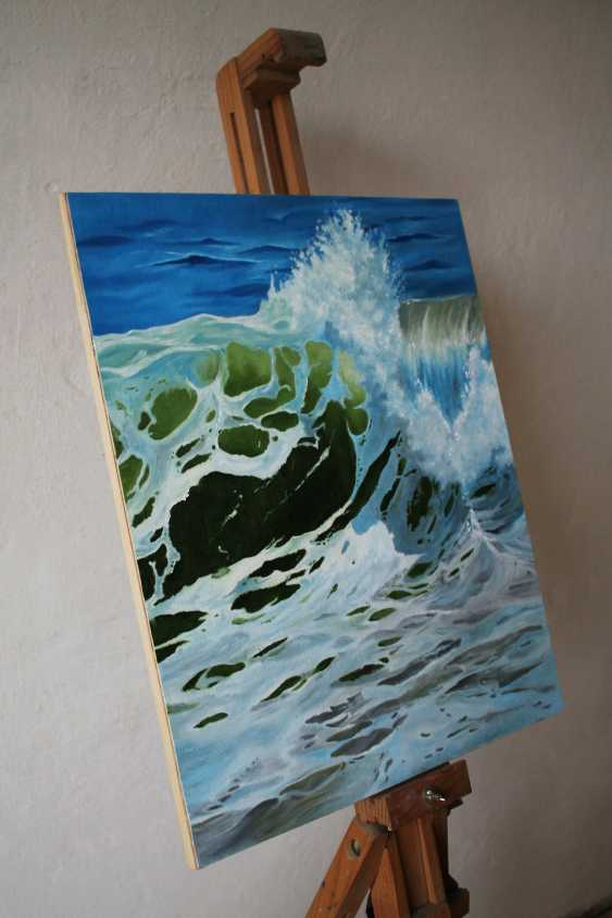 Tetiana Sulzhenko. Sea wave - photo 3