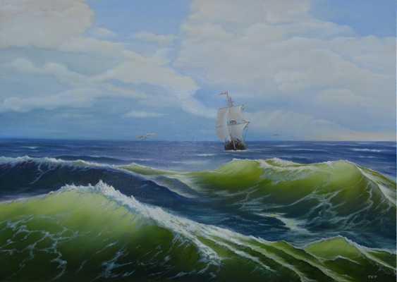 Konstantin Tetlyashov. In the open sea - photo 1