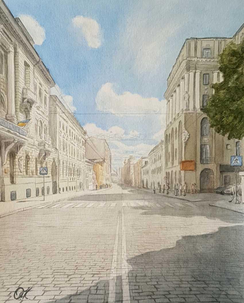 "Olha Krasko. ""On a sunny street"" - photo 1"