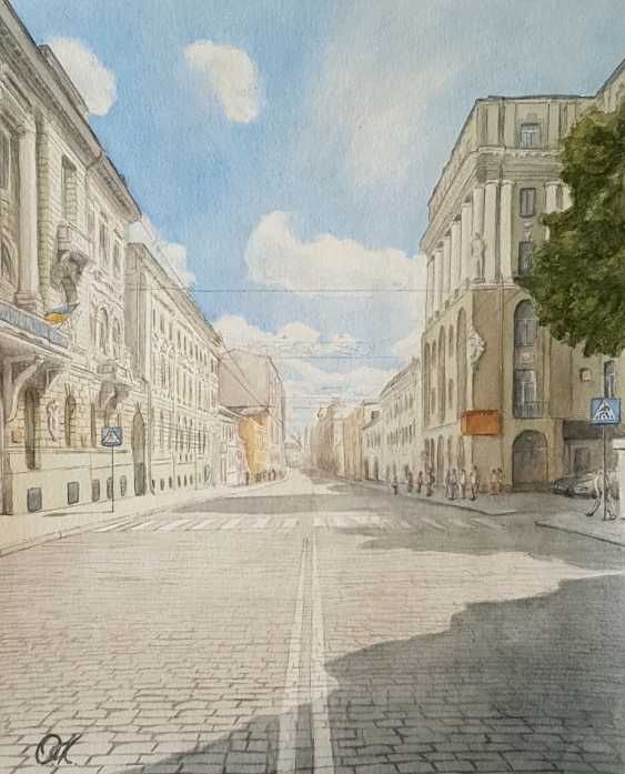 "Olha Krasko. ""By the Sunny street"" - photo 1"