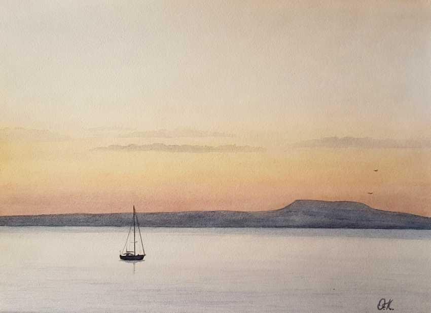 """Olha Krasko. """"Calm at sunrise"""" - photo 1"""