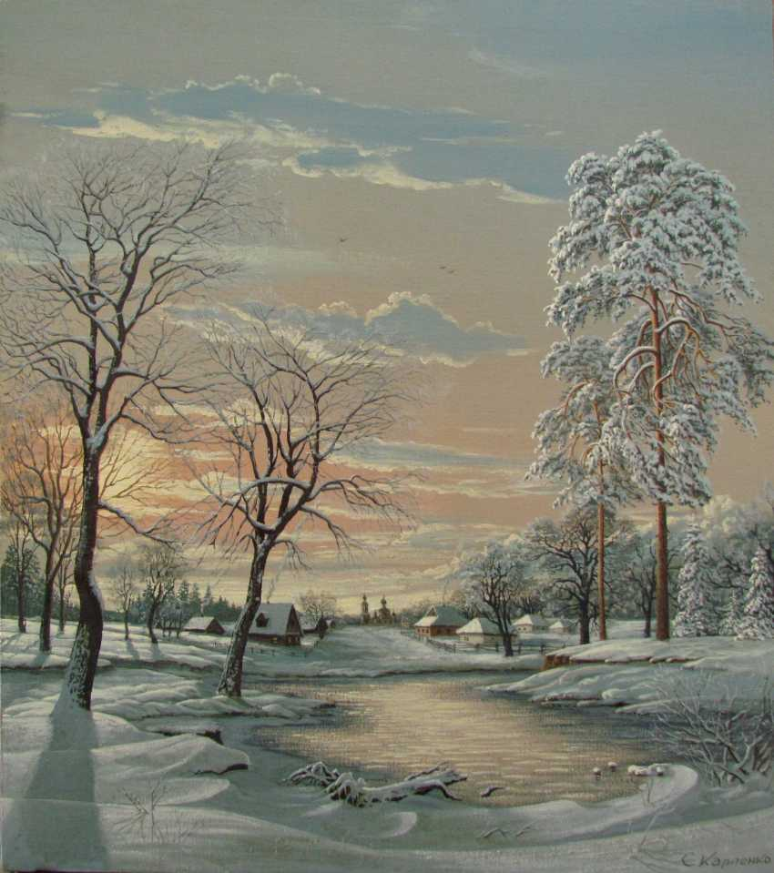 Winter landscape - photo 1