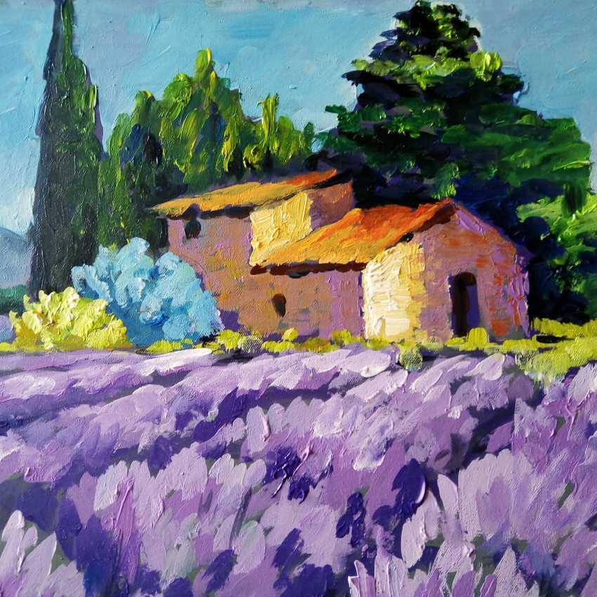 "Svetlana Akulova. ""Lavender"" - photo 1"