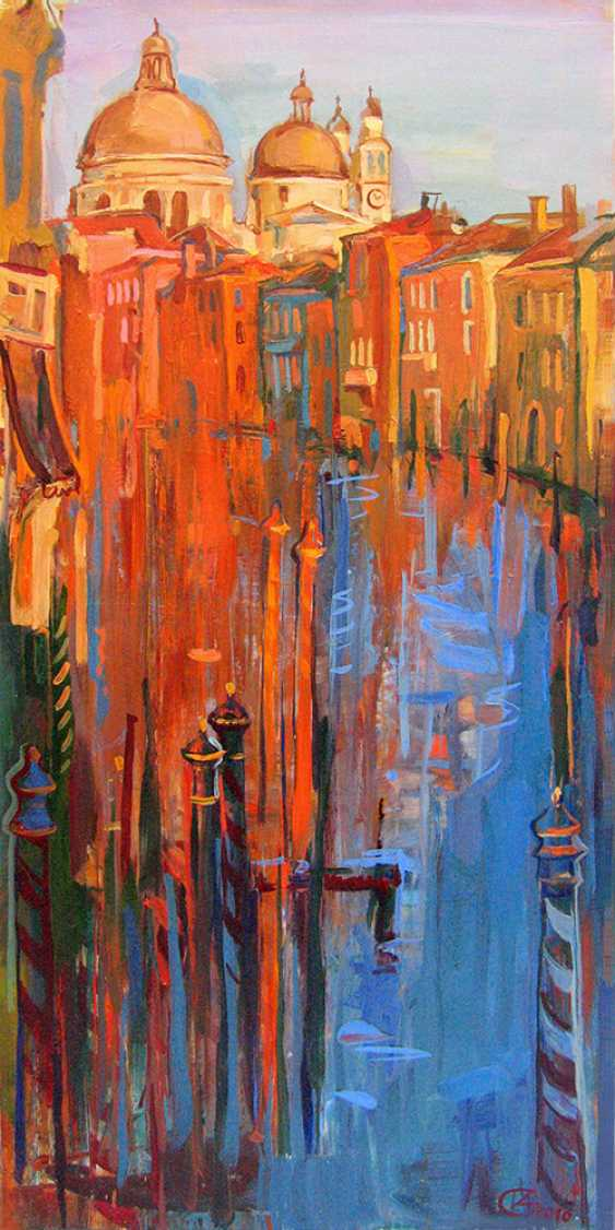 "Irina Andreieva. ""Midi sur le Grand canal"" - photo 1"