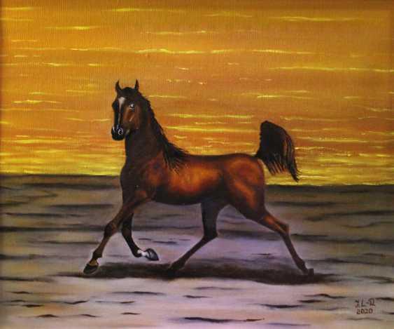 """Jelena Lebedeva-Dvorecka. """"A graceful horse."""" - photo 1"""