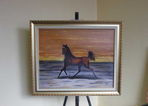 """Jelena Lebedeva-Dvorecka. """"A graceful horse."""" - photo 2"""