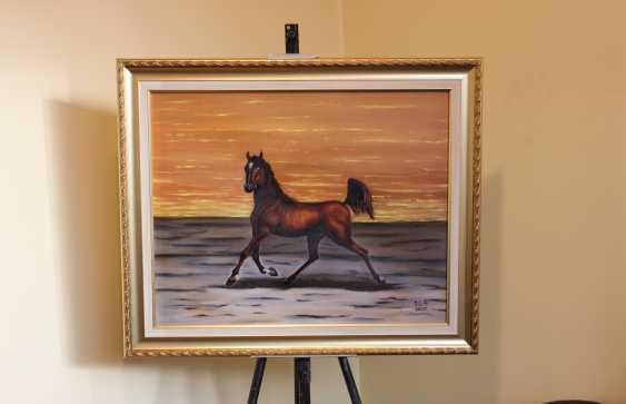 """Jelena Lebedeva-Dvorecka. """"A graceful horse."""" - photo 3"""