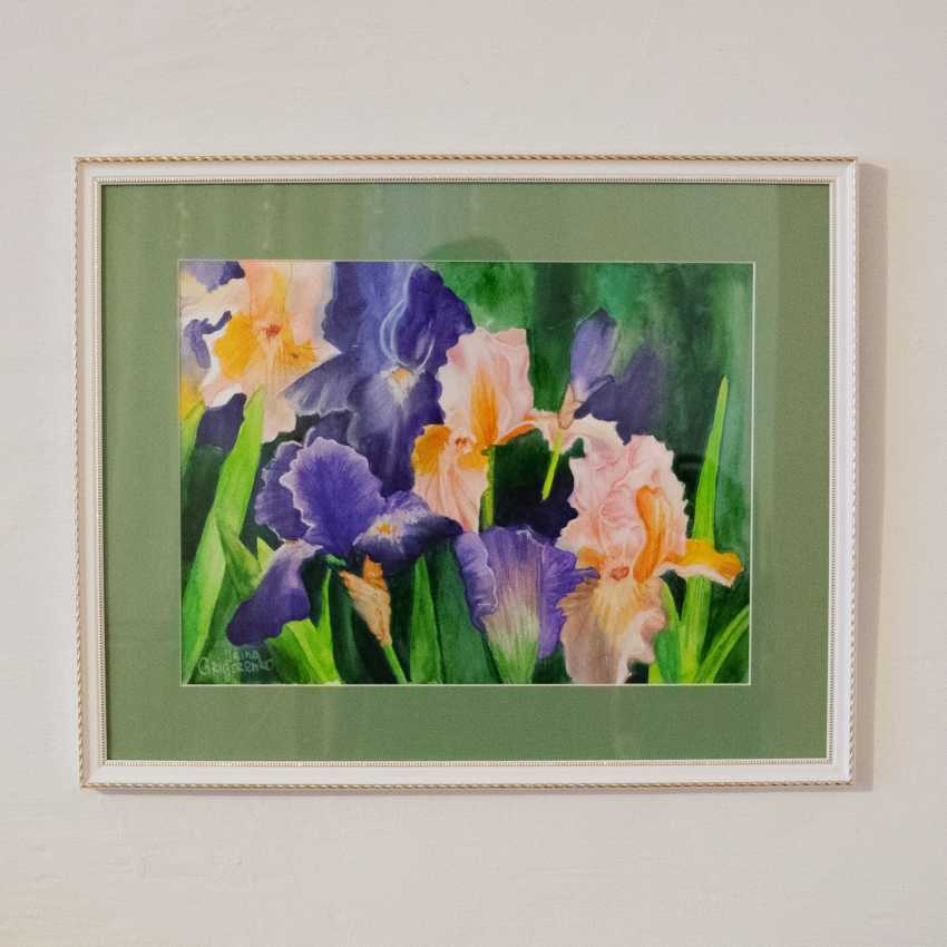 Irina Mezenceva. Irises - photo 1
