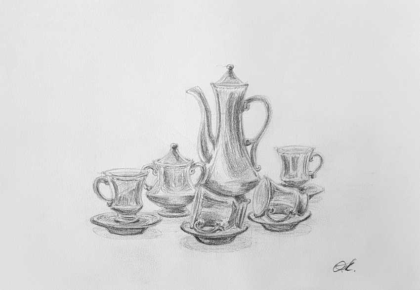 """Olha Krasko. """"Coffee set"""" - photo 1"""