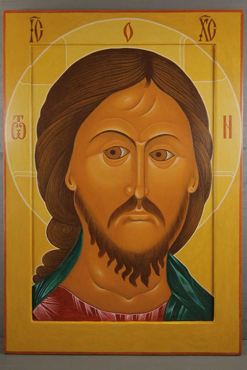 Sergey Stuzhin. The Icon Of Christ The Ardent Eye - photo 1