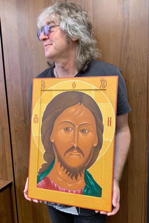 Sergey Stuzhin. The Icon Of Christ The Ardent Eye - photo 3