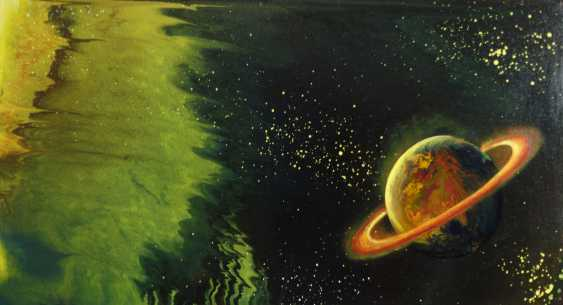 """Alla Struchaieva. The painting """"out of the black hole"""" - photo 1"""