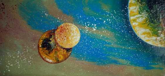 """Alla Struchaieva. The picture of the """"Life stream of the Universe"""" - photo 1"""