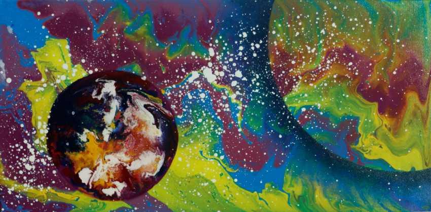 "Alla Struchaieva. The painting ""Cosmic dream"" - photo 1"