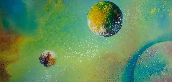 "Alla Struchaieva. Painting ""peaceful space"" - photo 1"