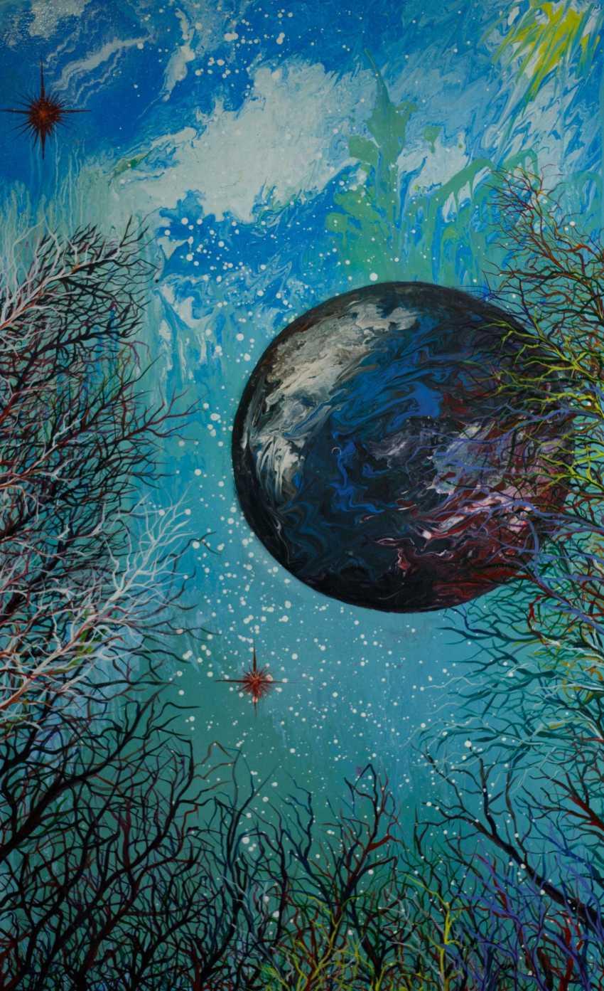 "Alla Struchaieva. The painting ""the Celestial web"" - photo 1"