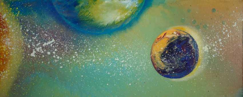 """Alla Struchaieva. The Painting """"Rainbow Of Avalon"""" - photo 1"""