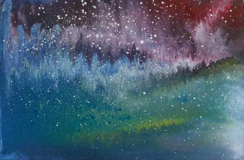 "Alla Struchaieva. The Painting ""Lights Of The Universe"" - photo 1"