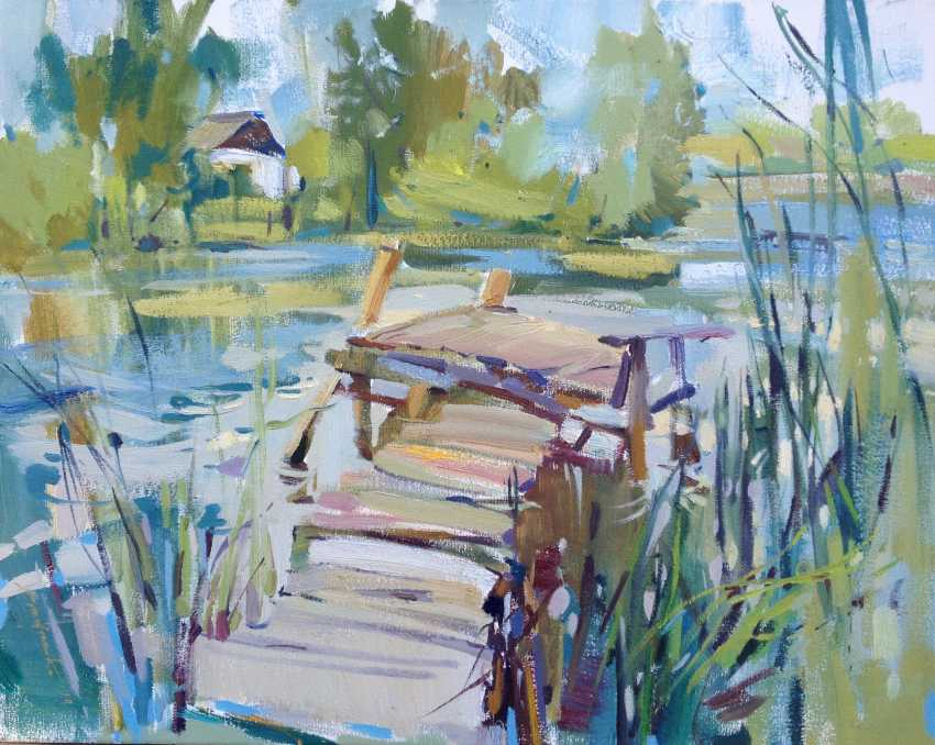 Zoia Emelyanenko. Fishing bridge - photo 1