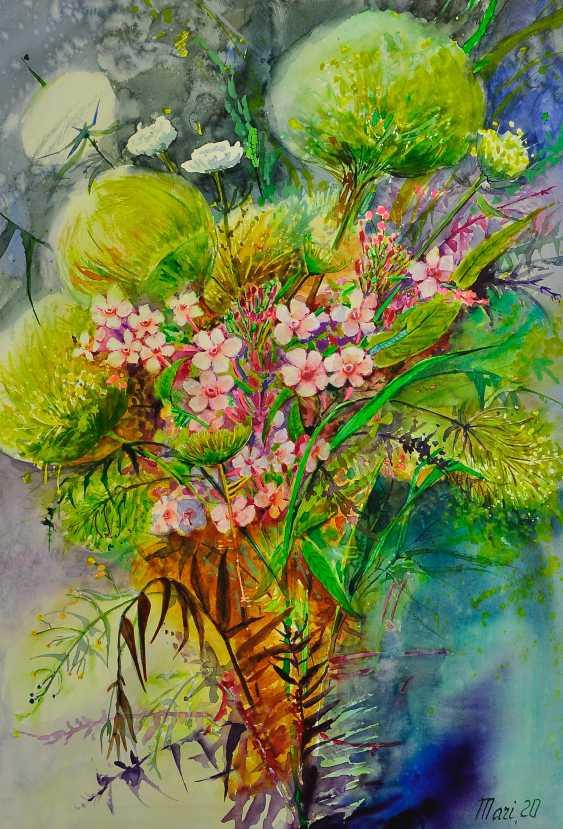 """Maryna Pashchenko. """"Die Blumen des Sommers. """" - Foto 1"""