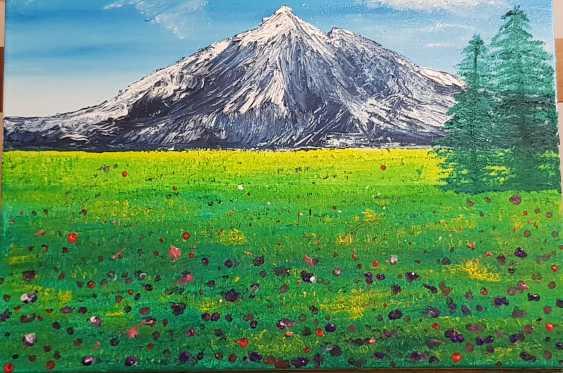 Elena Goncharova. fields in bloom - photo 1