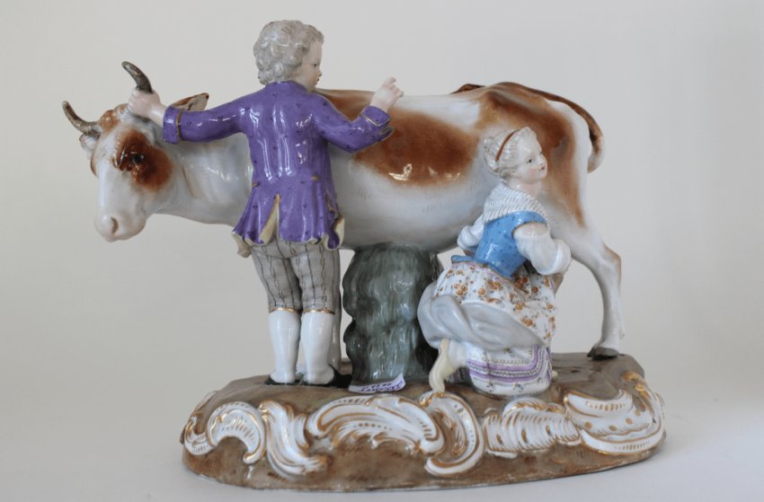 Meissen porcelain of the XIX century - photo 1
