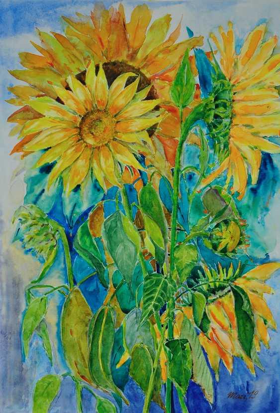 Maryna Pashchenko. Sunflowers. - photo 1