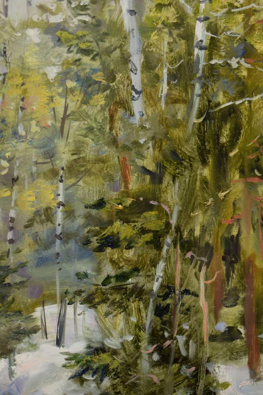 Natalya Savenkova. Spring in the forest - photo 2