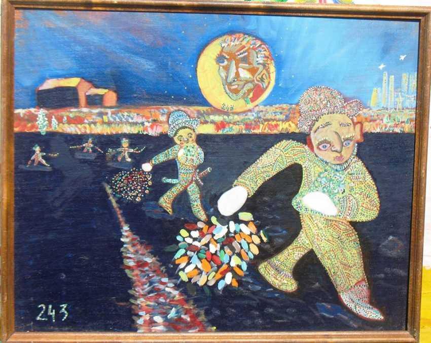 """Alekcandr emelyanov. """"Sowers figures 3"""" - photo 1"""
