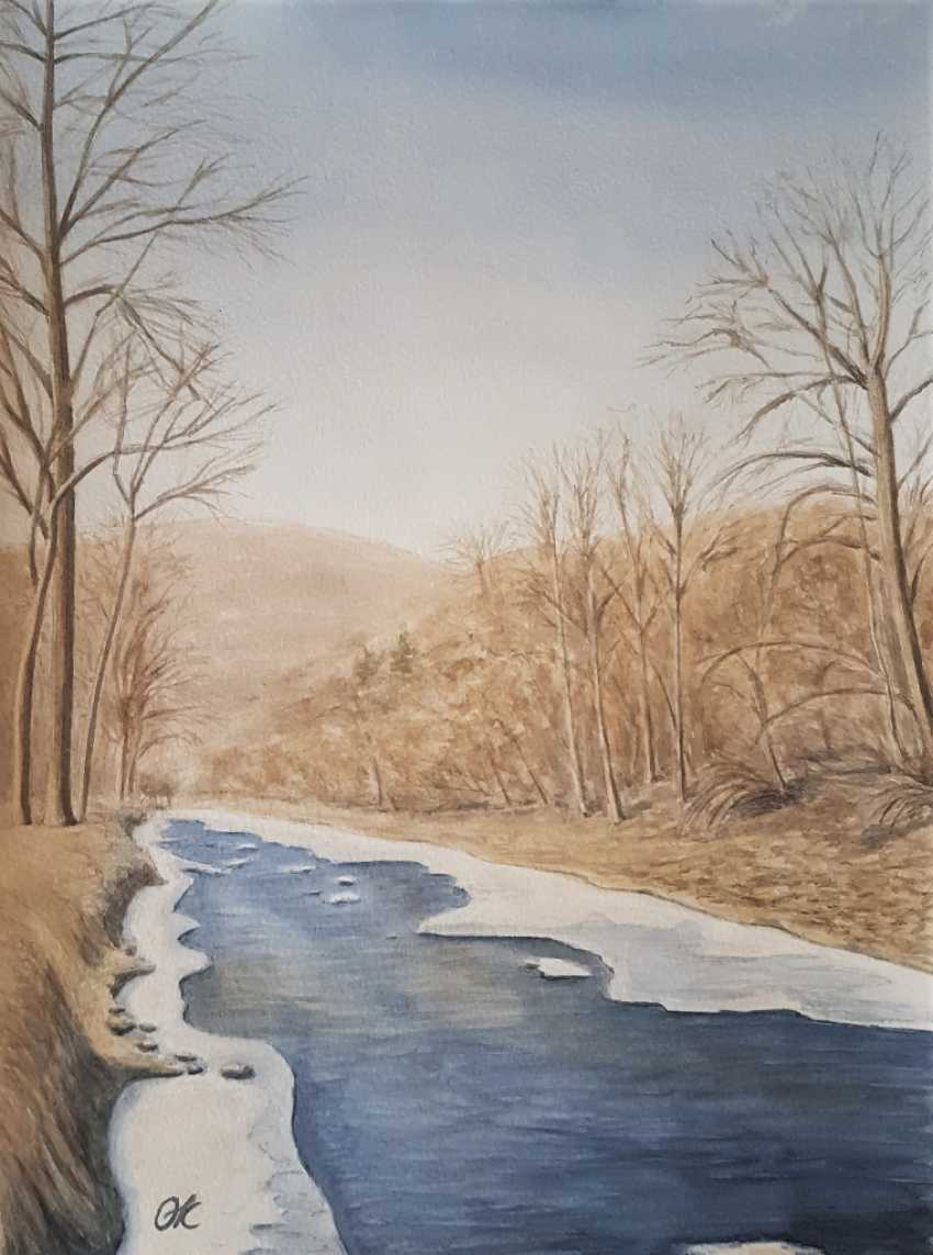 "Olha Krasko. ""Life is like a river"" - photo 1"