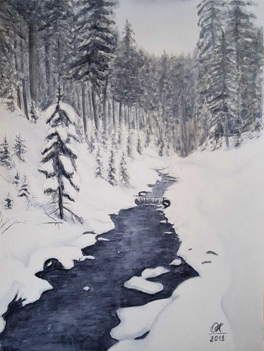 "Olha Krasko. ""Winter's tale"" - photo 1"