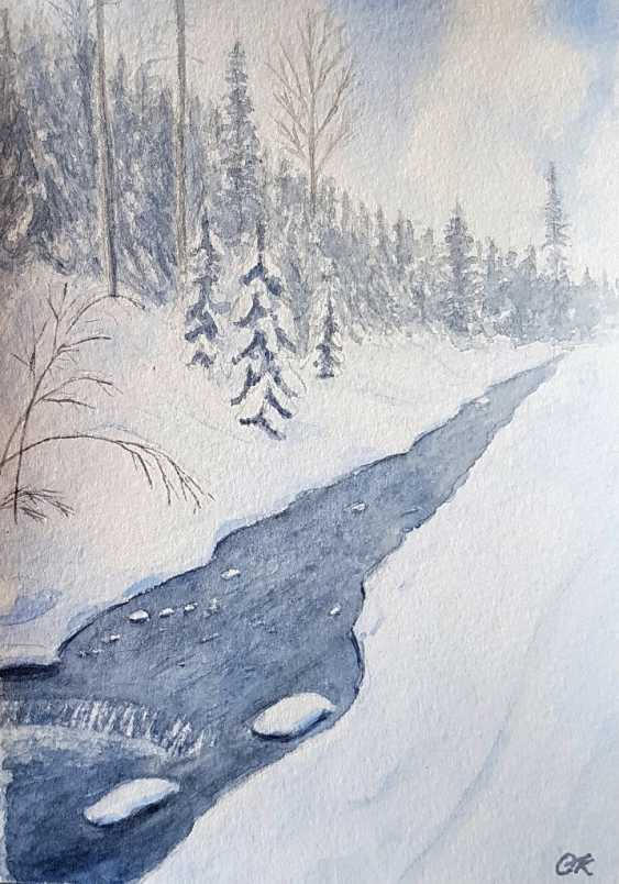 "Olha Krasko. ""Le ruisseau"" - photo 1"