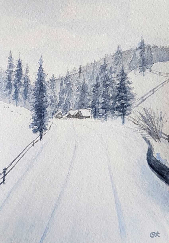 "Olha Krasko. ""Zimushka-winter..."" - photo 1"