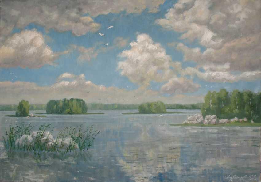 Alexander Bezrodnykh. lake Vuoksa - photo 1