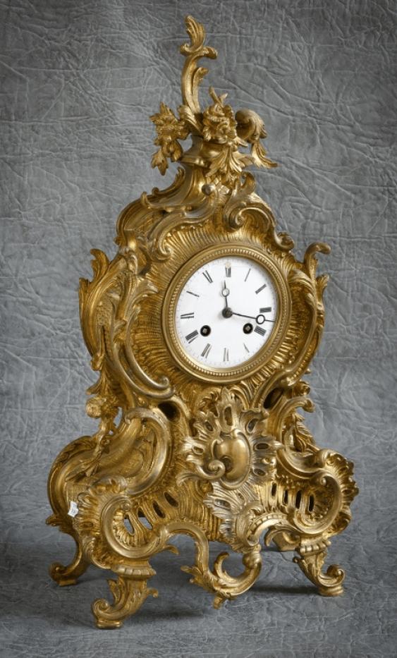 Mantel clock the 19th century, France - photo 1