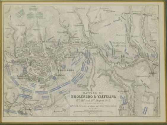 "Карта ""Battles of Smolensko & Valtelina"" - photo 2"