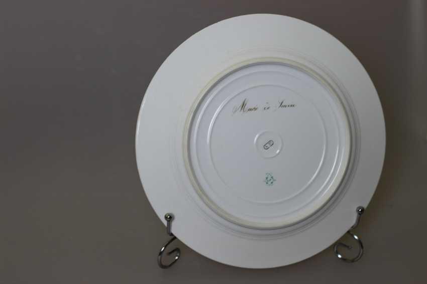 Dish Portrait Of Marie-Josephine Of Savoy - photo 3