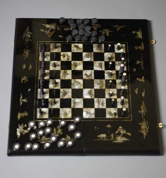 Chess and backgammon. Vietnam. The beginning of the XX century. - photo 1