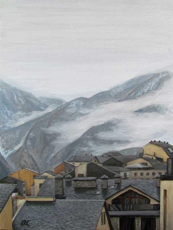 """Olha Krasko. """"Foggy morning"""" - photo 1"""